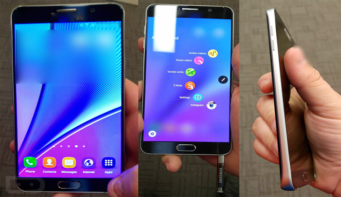 Samsung Galaxy Note 5 prices in 2015