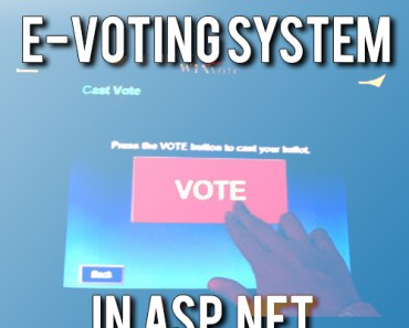 Download e-voting system project in asp.net