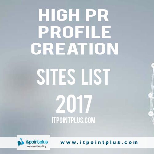 Free 150+ Profile Creation Website List 2019