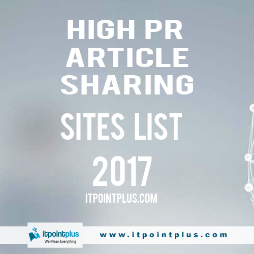 article submission site list