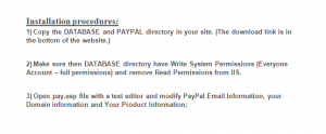 paypal integration in asp-net