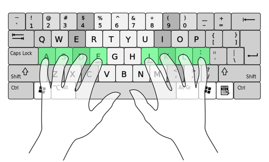 typing test for beginners